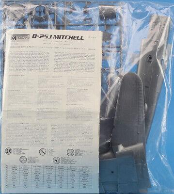 Monogram 1:48 B-25 J Mitchell Plastic Aircraft Model Kit #5502U1