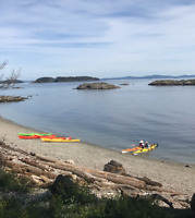 Take a 2 or 3 night Kayak Tour in the Gulf Islands