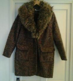 Winter coat ladies size 14