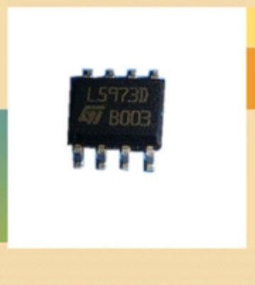 L5973D STMicroelectronics SOP-8 ST Switching Step Down Regulator Quantity 2