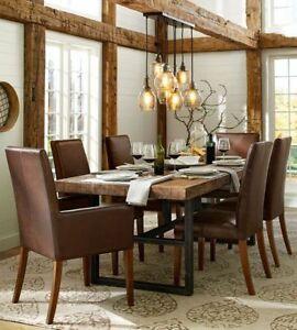 Recherche set de cuisine moderne avec 6 chaises et rallonge
