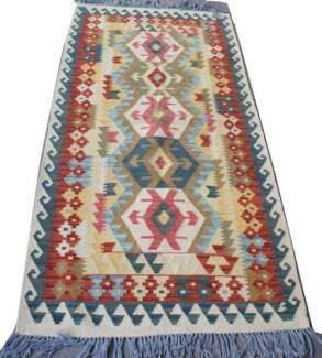 Handmade Afghan Chobi Kilim Rug Modern Carpet on Sale-210x Hornsby Hornsby Area Preview