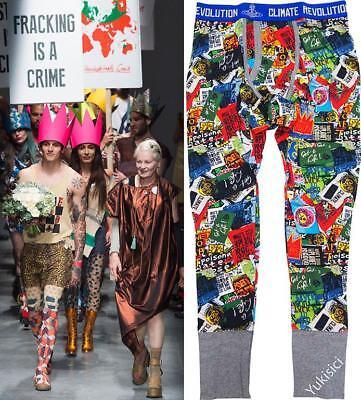 Vivienne Westwood Man Japan Leggings Climate Revolution w/Orb Box Set-Size L