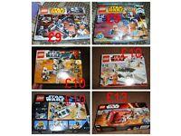 Lego star wars sets (loads more sets in pics)