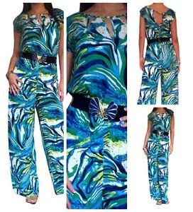 Ladies-Jumpsuit-Playsuit-Womens-Party-Evening-Maxi-Dress-Size-8-10-12-14-16-18