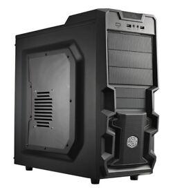 New Core i5 Gaming PC - Asus GTX 1050, CPU i5-3570 (3.8GHz x4 core), 8/16GB RAM, 120gb SSD, 1.5TB HD