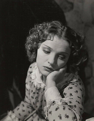 Georges Hoyningen-Huene 8x10 Photo of Russian Born Actress Anna Sten, Signed