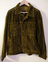 Jacket corduroy Dr Martens XL olive green,new