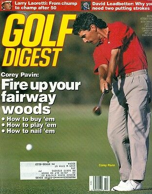 1992 Golf Digest Magazine: Corey Pavin- Fairway Woods/ David (Golf Digest Putting)