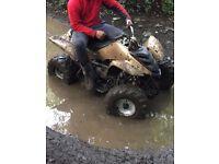 110cc semi automatic quad