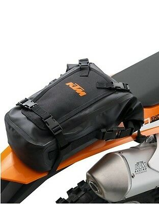 BRAND NEW KTM UNIVERSAL WATER PROOF REAR BAG EXC XC SX SXF SXS EXC  78112978000