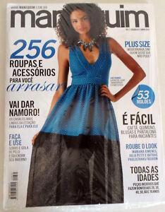 MANEQUIM  BRAZILIAN MAGAZINE 675 - JUNE 2015 W/ SEWING PATTERNS