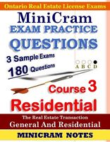 REAL ESTATE OREA EXAM NOTES PRACTICE QUESTIONS
