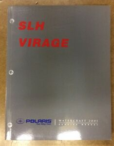 SHOP MANUAL POLARIS 01 VIRAGE / SLH
