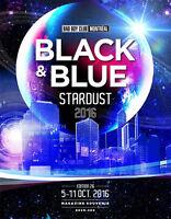 Billet pour le Black and Blue