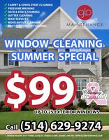 $99 Window Cleaning - CALL (514) 629-9274