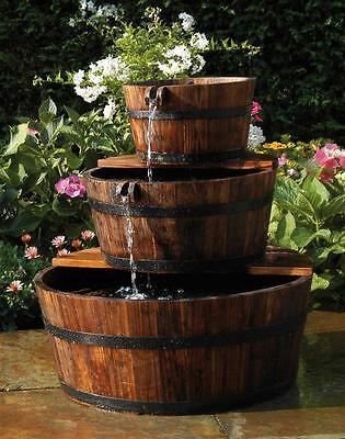 Gartenbrunnen / Wasserfall Ubbink AcquaArte Edinburgh Holz