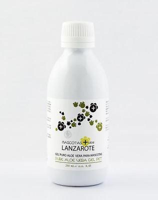 Aloe Lanzarote Aloe Vera Pure Gel for Pets, 250ml