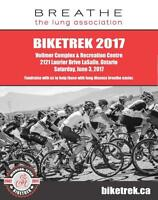 BikeTREK- 17th Annual event by the Lung Association
