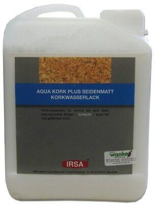 Irsa Aqua Kork Plus Seidenmatt 2,5 L Korklack Korkversiegelung online kaufen
