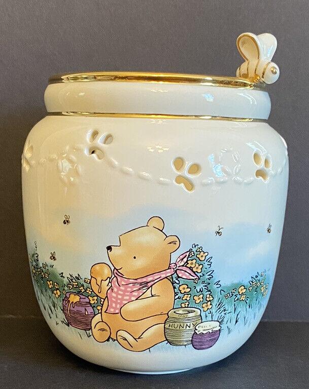 Lenox Disney Winnie the Pooh The Honey Pot Votive Candle Holder Classic Pooh