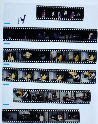 1987 MELBORNE BON JOVI PROFESSIONAL CONCERT PHOTO negative transparency LOT #14