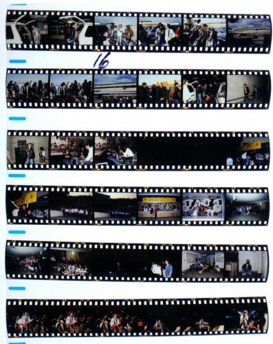 1987 MELBORNE BON JOVI PROFESSIONAL CONCERT PHOTO negative transparency LOT #16