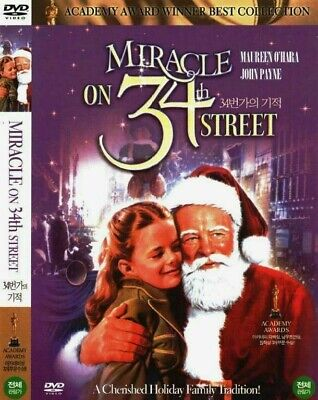 Miracle on 34th Street (1947) Maureen O'Hara [DVD] FAST SHIPPING