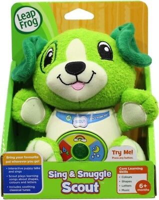 NEW Leapfrog Sing & Snuggle Scout from Mr Toys