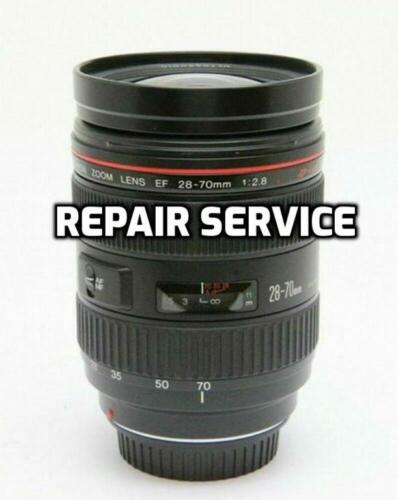 """""""REPAIR SERVICE"""" Canon EF 28-70mm 2.8 Lens with 6 month Warranty"""