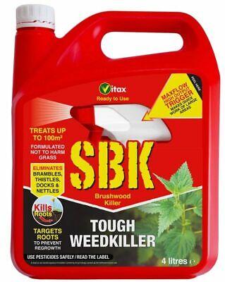 2x Vitax SBK Brushwood Killer 4L RTU - 5BKAPRTU
