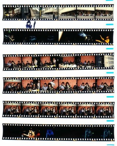 1987 MELBORNE BON JOVI PROFESSIONAL CONCERT PHOTO negative transparency LOT #21