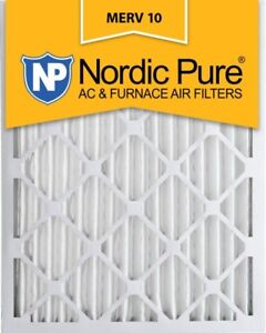 NEW (6) Nordic Pure 16x20x2 AC Furnace Filter