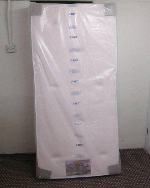 Single 1000 Pocket Memory mattress