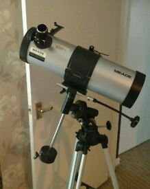 2 telescopes! 1 Meade 1 National Geographic