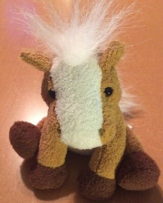 Princess Soft Toys Neighing Horse Plush 4 1/2""
