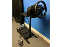 Thrustmaster t300 rs racing/steering wheel & stand