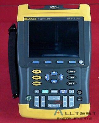 Fluke 199 Scopemeter 2.5gss Dual-input 200mhz Oscilloscope