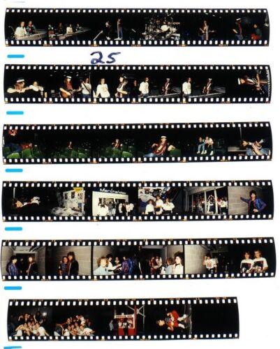 1987 MELBORNE BON JOVI PROFESSIONAL CONCERT PHOTO negative transparency LOT #25
