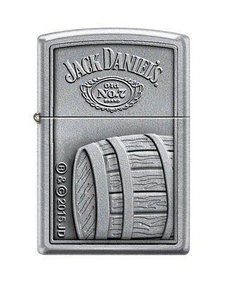 Zippo 5720, Jack Daniels Tennessee Whiskey, Street Chrome Lighter, Full Size
