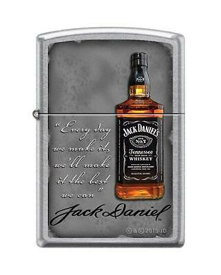 Zippo 8589, Jack Daniels Tennessee Whiskey Old No. 7, Street Chrome Lighter