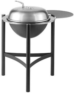 Stainless Steel Kettle Grill and side shelf – Dancook