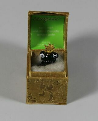 M / Frog King - Glas Figure IN Casket - Luitpold the First - Approx. 2in S80