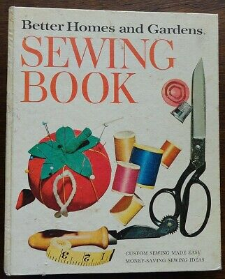 1961 Vintage Better Homes & Gardens Sewing Book How to Sew 5 Ring Binder 1970