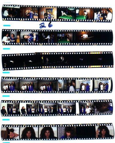 1987 MELBORNE BON JOVI PROFESSIONAL CONCERT PHOTO negative transparency LOT #26