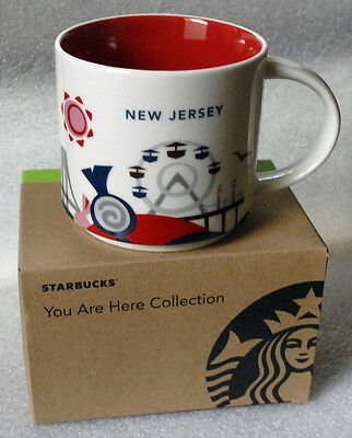 STARBUCKS NEW JERSEY 2015 You Are Here NWT mug YAH