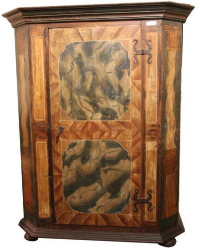 Cabinet, Antique Wedding, Austrain, Painted ,18th C., 1700s, Beautiful Antique!
