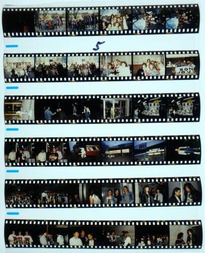 1987 MELBORNE BON JOVI PROFESSIONAL CONCERT PHOTO negative transparency LOT #5