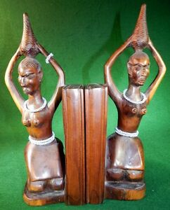 African Art Bookends