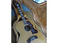 Cortez J200 Acoustic Guitar 70s Japan (Lawsuit Gibson Copy)